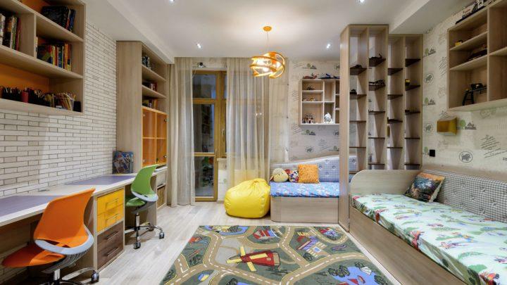 Большая детская комната — советы по оформлению и стильные тенденции декора. 130 фото и видео модных идей