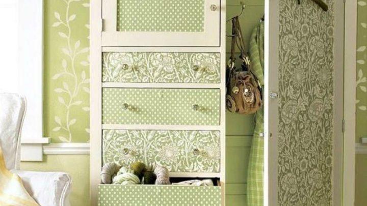 Декупаж мебели своими руками — примеры современных вариантов оформления и украшения старой и новой мебели (120 фото)