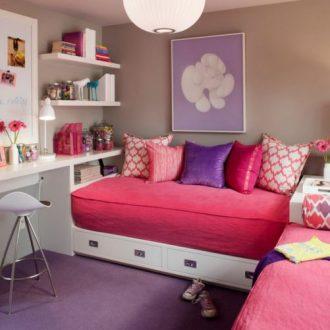 Детская 12 кв. м. — 105 фото красивых идей и сочетаний интерьера для девочек и мальчиков