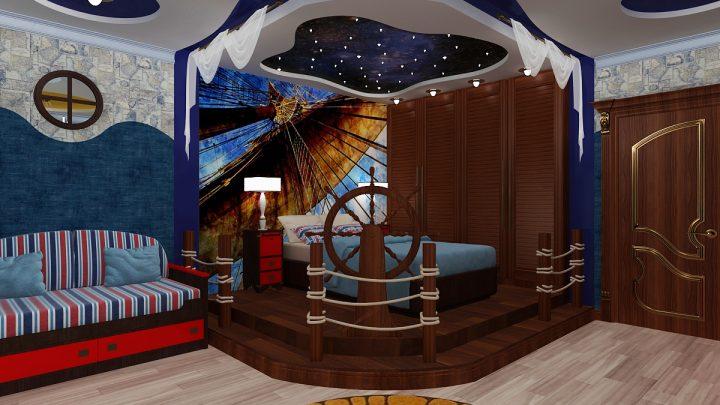 Детская комната для мальчика: варианты модного дизайна и идеи стильного тематического интерьера (130 фото)