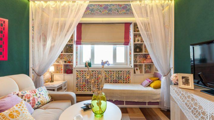 Детская комната с балконом — стильные идеи дизайна, утепление и варианты отделки комнат (75 фото)