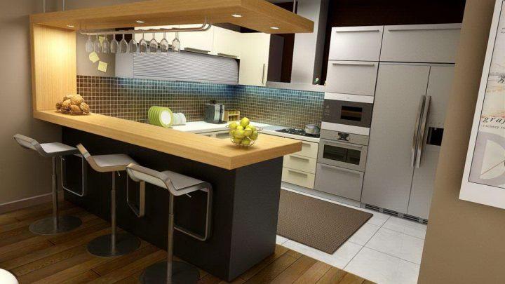 Дизайн кухни — красивые варианты стильного дизайна и советы по выбору лучших идей интерьера (100 фото)