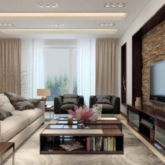 Гостиная в квартире — особенности оформления интерьера и правила оптимальных сочетаний (145 фото)