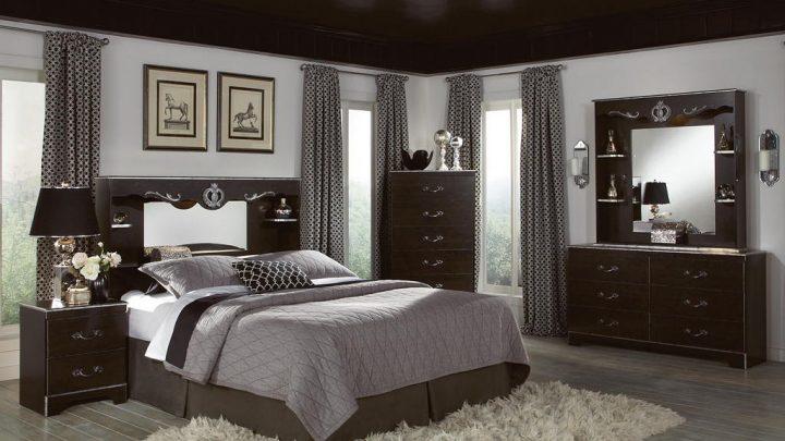 Идеи для спальни — примеры стильного оформления интерьера и красивых элементов украшения спальни (135 фото)