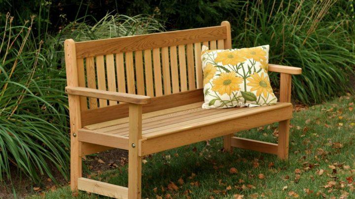 Как сделать скамейку со спинкой — лучшие идеи оформления стильных, простых и элегантных садовых скамеек (100 фото и видео)