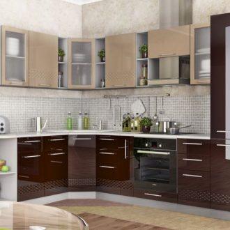 Комбинированные кухни — 145 фото реальных примеров современного интерьера кухни
