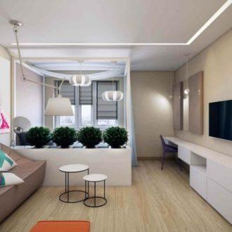 Комната 20 кв. м.: зонирование просторных комнат и реальные фото стильного интерьера (145 фото и видео)