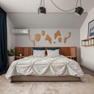 Ковер в спальню — лучшие новинки, обзор дизайна и самые красивые варианты оформления (120 фото)