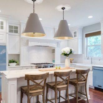 Кухня 12 кв. м. — варианты ремонта и идеи оформления просторных кухонь 2019 года (90 фото)