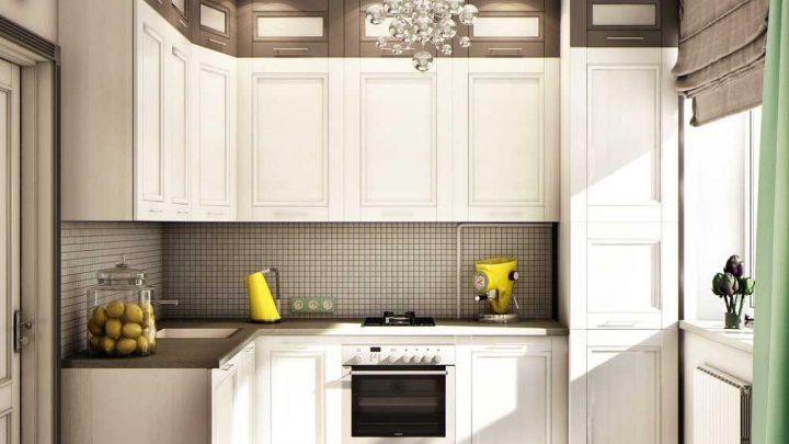 Кухня 9 кв. м.: 140 фото реальных примеров стильного и красивого дизайна интерьера