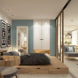 Квартира 40 кв. м. — лучшие решения оформления интерьера от ведущих дизайнеров (115 фото)
