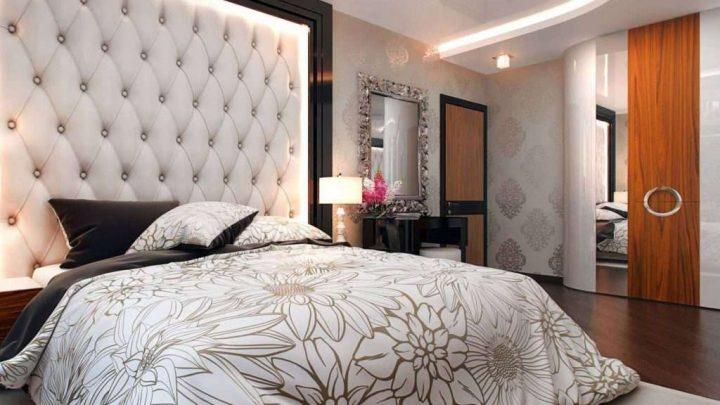 Оформление спальни — 145 фото современного интерьера и идеи самых красивых сочетаний