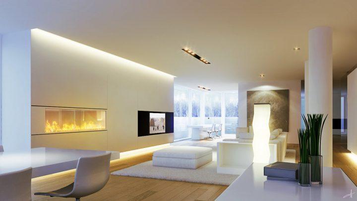 Освещение в гостиной — оригинальные решения как разместить светильники в гостиной. Советы дизайнеров по выбору самых практичных идей (85 фото)