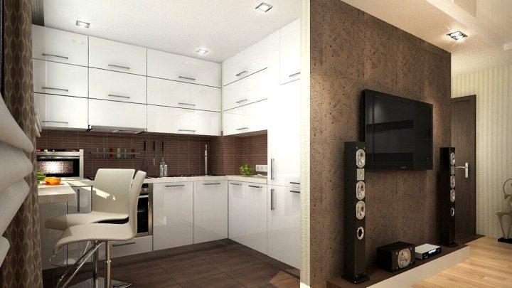 Планировка хрущевки — зонирование и организация пространства в типовой квартире (75 фото-идей)