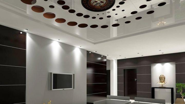 Потолок в спальне: советы по выбору конструкции и оформлению потолка в спальной комнате. 140 фото лучших современных идей и сочетаний