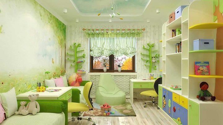 Размер детской комнаты — особенности дизайна для больших и маленьких комнат. Как правильно оформить различные по форме комнаты (80 фото)