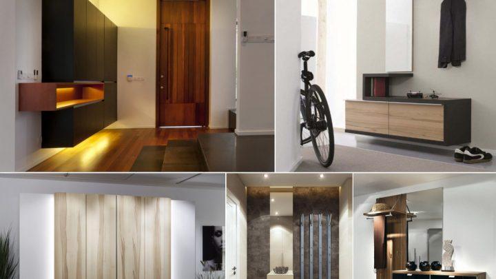 Размеры прихожей — как оформить современный интерьер и фото реальных примеров внешнего вида прихожей (145 фото)