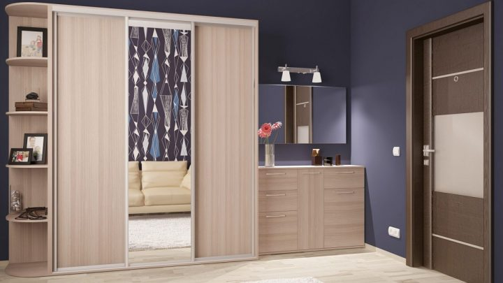 Шкаф в прихожую — советы по выбору, расположению и самые модные тенденции оформления шкафов (110 фото)
