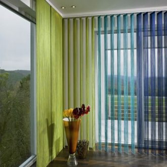 Шторы из ниток — делаем стильные и оригинальные украшения для дома или квартиры (95 фото)