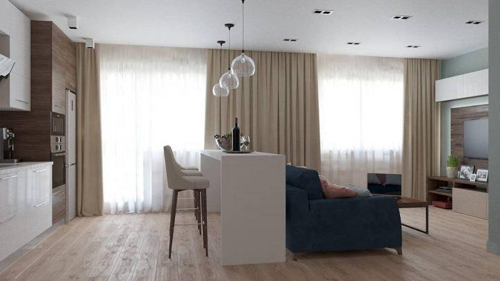 Совмещенная кухня — обзор лучших интерьеров и стильных сочетаний для комбинированных помещений (95 фото)