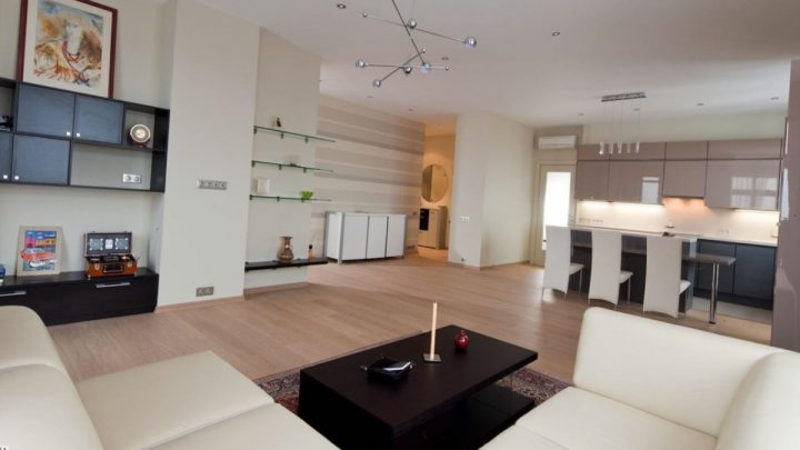 Совмещенные гостиные — стильные идеи и лучшие сочетания стилей для совмещенных гостиных комнат (105 фото)