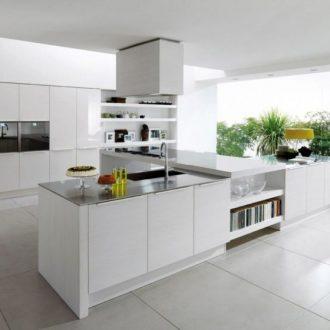 Современные кухни — 150 фото примеров реального оформления интерьера в современных и классических стилях