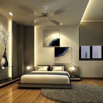 Спальня 2019 года: модные идеи интерьера и современные варианты оформления спален различных размеров (110 фото)