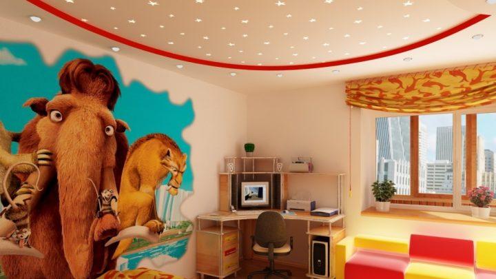 Стены в детской комнате — 80 фото лучших решений дизайна и обзор тенденций детского декора