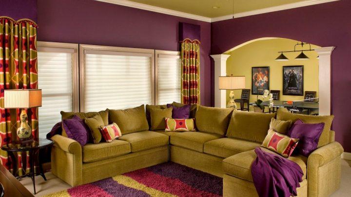 Цвет гостиной: особенности выбора сочетаний и правила применения ярких цветов (135 фото и видео урок)