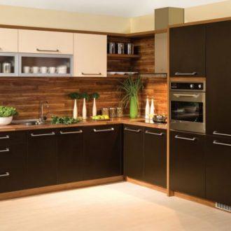 Угловые кухни — реальные фото применения и красивые решения для стильных вариантов интерьера (100 фото)