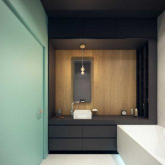 Ванная 4 кв. м. — стильные сочетания для маленьких ванных и современные идеи применения функциональной мебели (130 фото)
