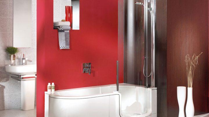 Ванная с душевой кабиной — плюсы, минусы, советы по выбору и установке в ванной комнате (125 фото)