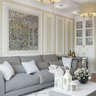 Зеркало в гостиной — идеи и варианты размещения зеркал в гостиной. Лучшие советы и идеи современных дизайнеров (110 фото)