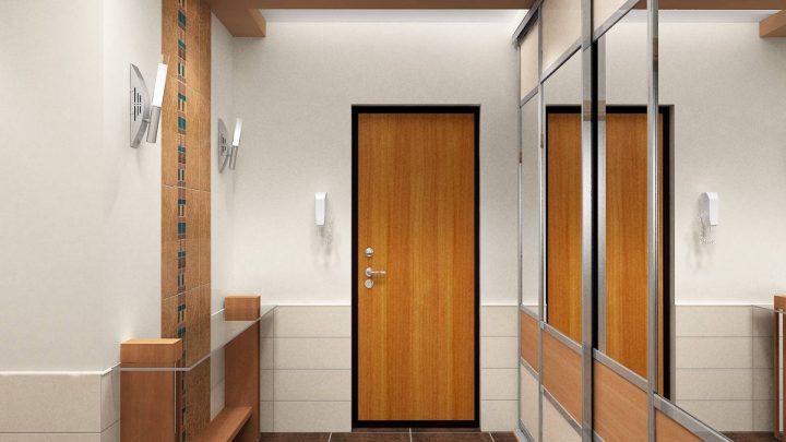 Двери в прихожей — современные сочетания и советы как сделать красивый интерьер прихожей (95 фото)