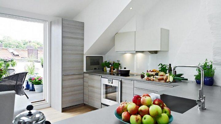Кухни с балконом — 75 фото примеров кухонных интерьеров с выходом на балкон. Лучшие идеи оформления совмещенных кухонь