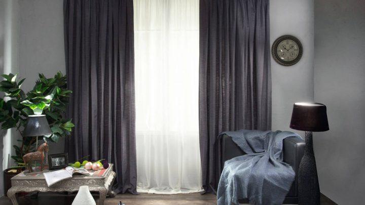 Шторы в гостиную — 90 фото современных красивых идей сочетаний и идеальных украшений