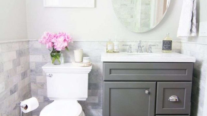 Ванная в хрущевке — красивые решения дизайна и реальные фото стильного ремонта в типовой ванной комнате (85 фото)